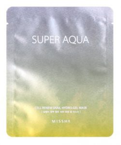missha hydro gel sheet mask