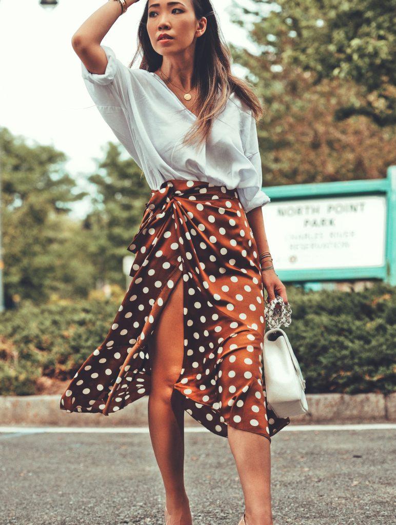 ruffle skirt trend