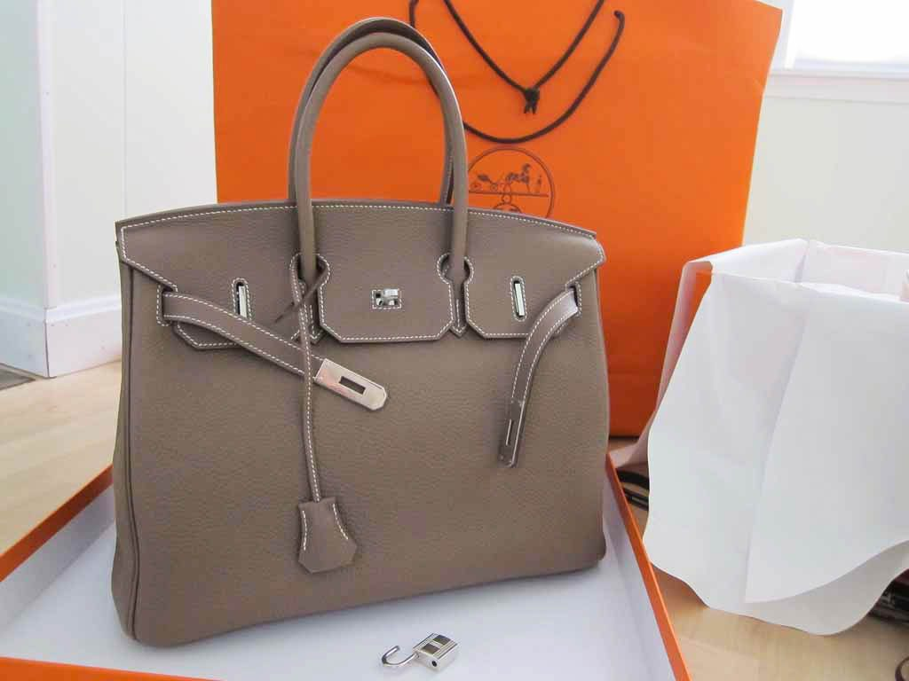 what my husband went through for my first Birkin