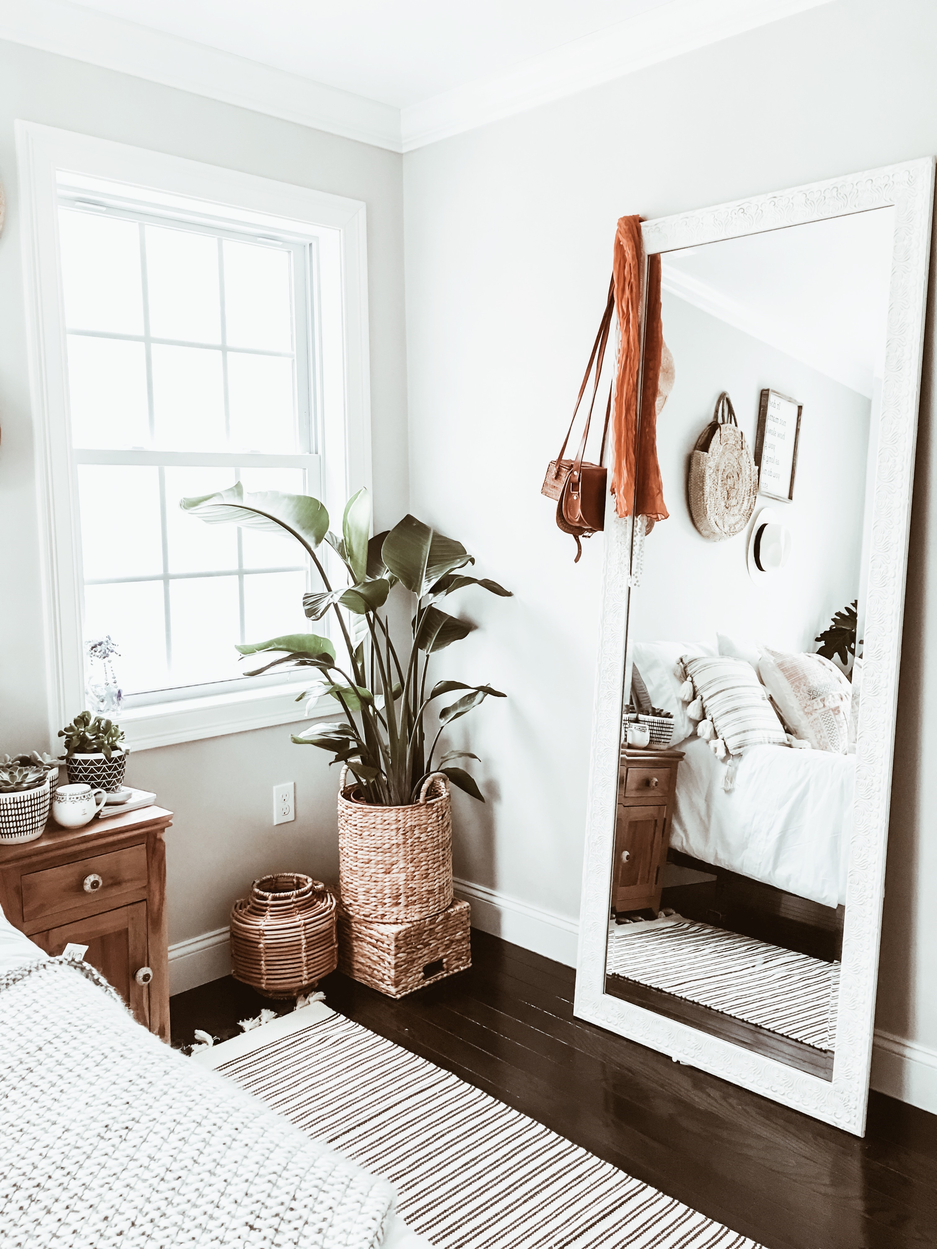 Home Decor Edition: Boho Chic Bedroom Makeover - WANDER x LUXE on Boho Bedroom Decor  id=48536