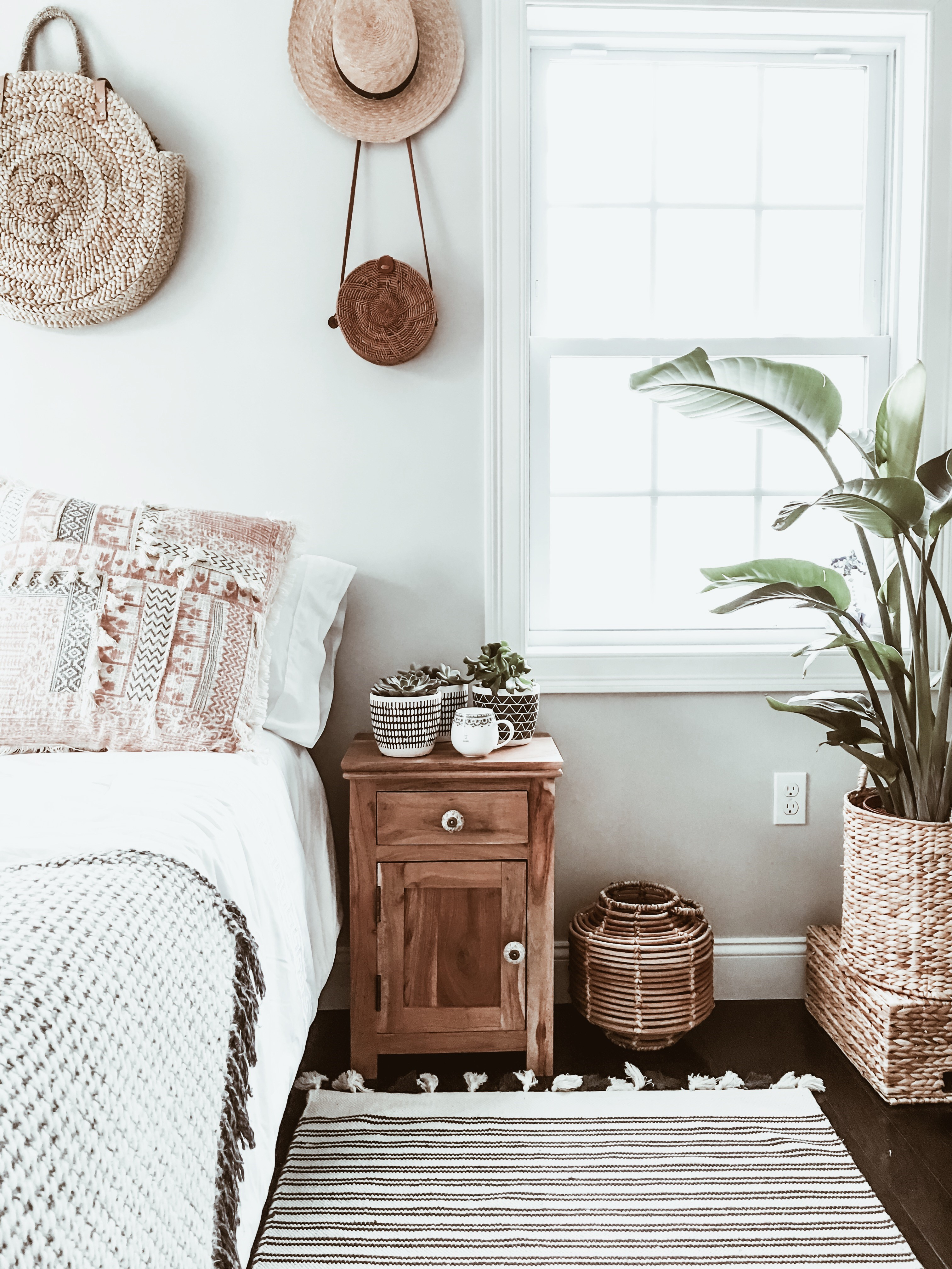 Home Decor Edition: Boho Chic Bedroom Makeover - WANDER x LUXE